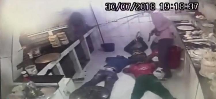 O assalto ocorreu em uma pizzaria nesta segunda-feira, 30 - Foto: Reprodução | Blog Central de Polícia