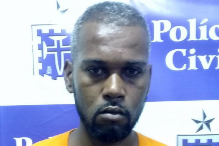 O suspeito foi atuado por homicídio e será encaminhado para audiência de custódia - Foto: Divulgação | SSP