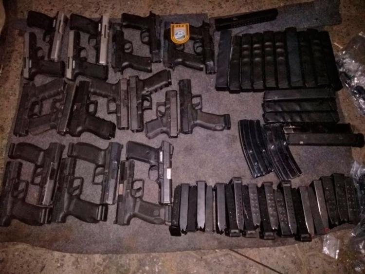 Armamento seria para 'abastecer' uma facção que atua em Salvador e na região metropolitana - Foto: Divulgação | SSP-BA