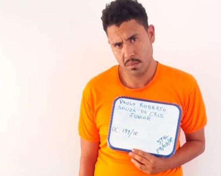 Paulo Roberto foi autuado por tráfico, associação criminosa e corrupção de menores - Foto: Divulgação | SSP-BA