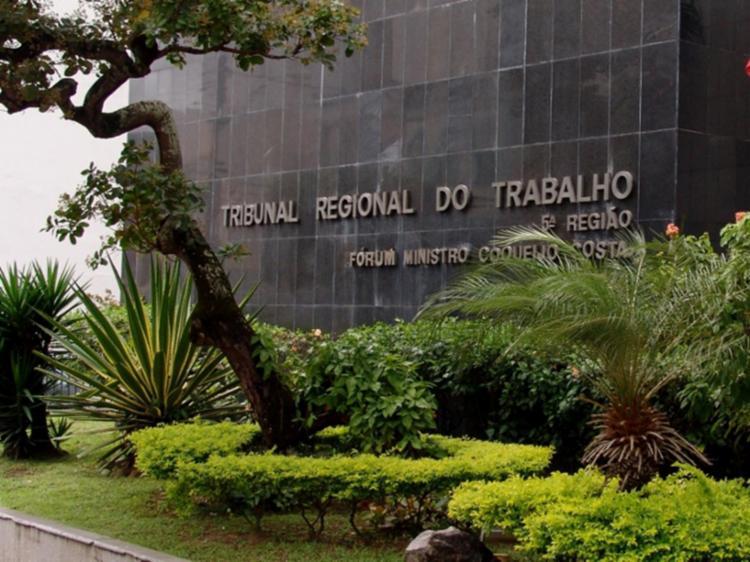O pedido de indenização foi julgado pela 3ª Vara do Trabalho de Feira de Santana - Foto: Divulgação   TRT5
