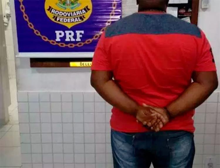 Homem estava foragido desde março deste ano - Foto: Divulgação   PRF