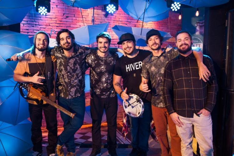 """Atitude 67 lançou recentemente o clipe da música """"Saideira"""", junto com o cantor Thiaguinho - Foto: Divulgação"""