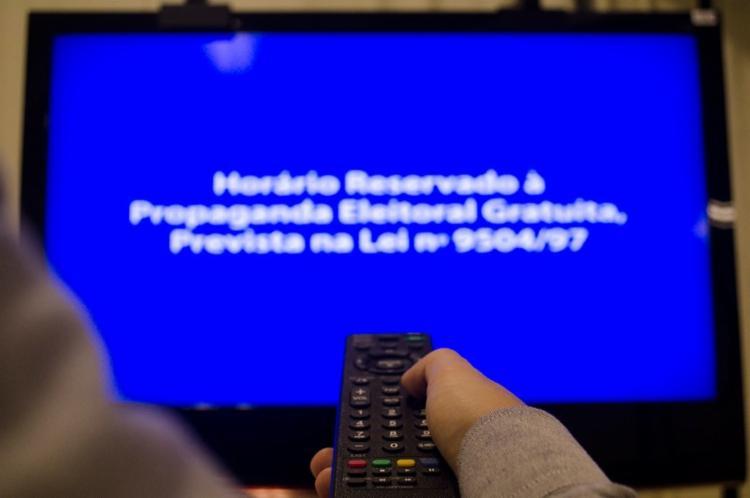 A propaganda eleitoral na TV terá 10 dias a menos nas eleições deste ano - Foto: Caroline Pacheco | Famecos | PUCRS