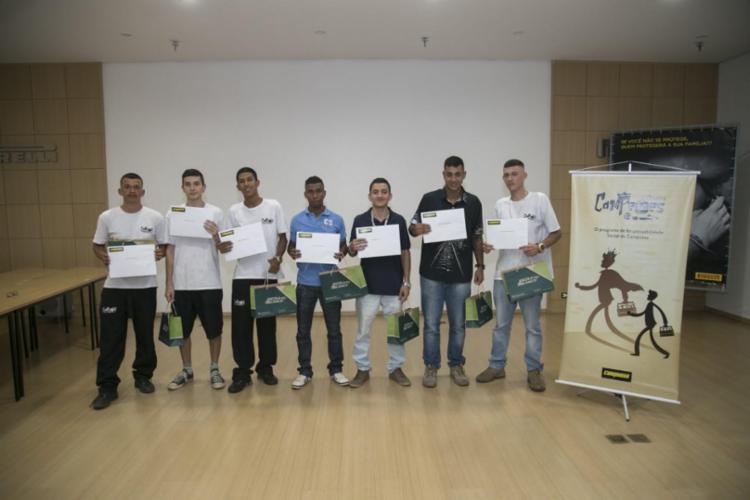 Projeto Jovens Campeões teve a primeira edição em Campinas (SP) - Foto: Divulgação | Campneus