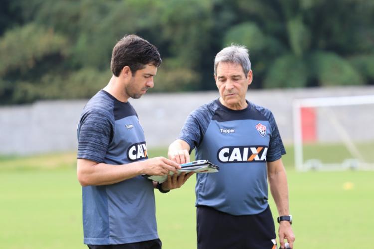 Treinador será apresentado oficialmente à imprensa nesta tarde - Foto: Maurícia da Matta   Divulgação   E. C. Vitória