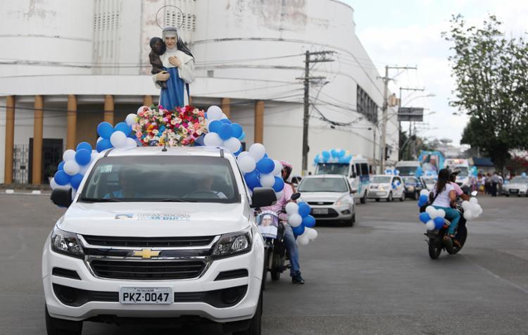 Evento faz parte das comemorações da festa litúrgica da beata - Foto: Adilton Venegeroles | Ag. A TARDE