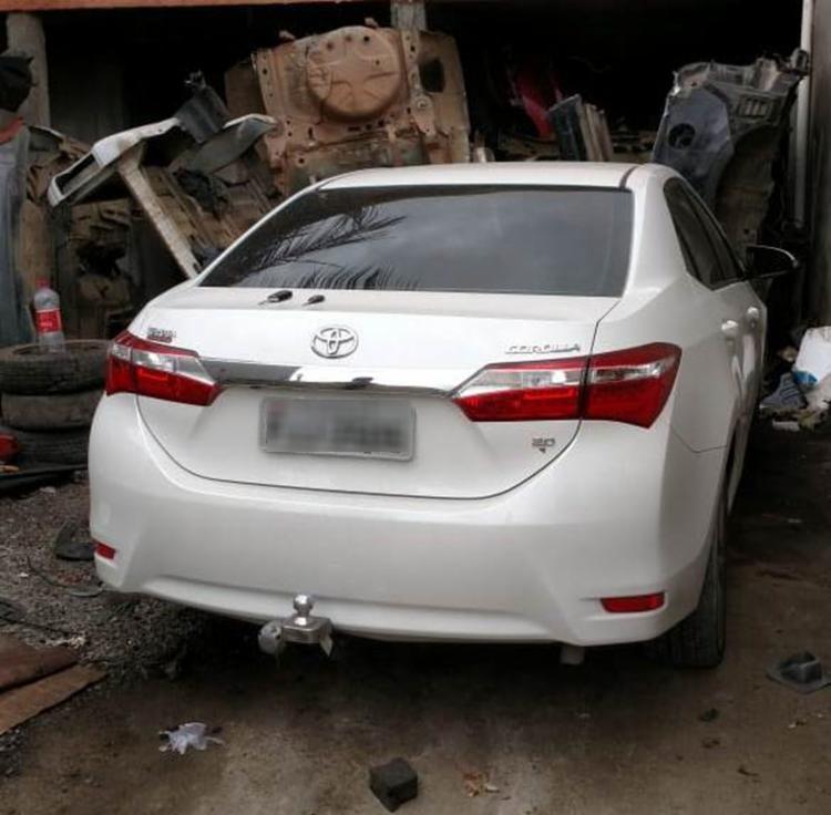 Carro foi encontrado em um desmanche no município de Santo Estevão - Foto: Divulgação | SSP-BA