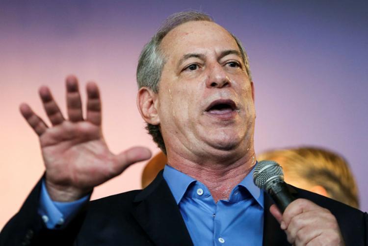 Ciro reforçou a associação direta de Alckmin e Meirelles com o governo do Temer - Foto: Marcelo Camargo   Agência Brasil