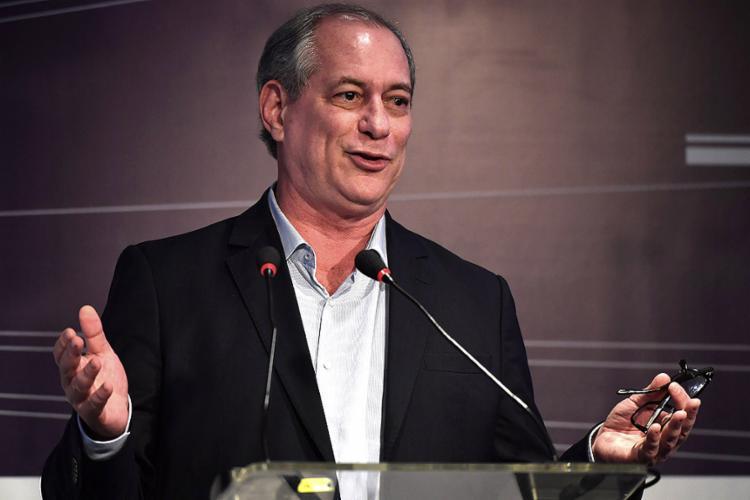 Candidato do PDT à Presidência nas eleições 2018 ainda classificou o rival do PSL como 'projetinho de Hitler tropical' - Foto: Nelson Almeida l AFP