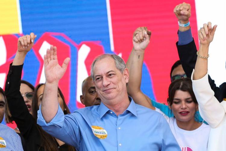 PDT confirma Ciro Gomes como candidato à Presidência da República em convenção nacional | Foto: Marcelo Camargo | Agência Brasil