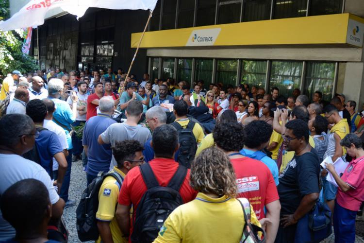 Trabalhadores terão de dar resposta à proposta até quinta, 9. Já os Correios poderão se responder dia 10 - Foto: Tomaz Silva | Agência Brasil | Fotos Públicas