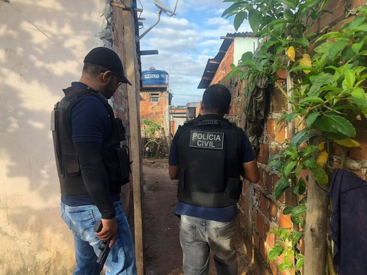Os mandados de prisão, busca e apreensão foram cumpridos em mais de 250 municípios baianos - Foto: Divulgação l Polícia Civil