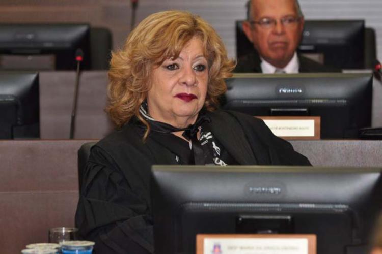 Desembargadora Maria da Graça Osório Pimentel Leal foi elogiada pelo CNJ - Foto: Reprodução   TJ-BA