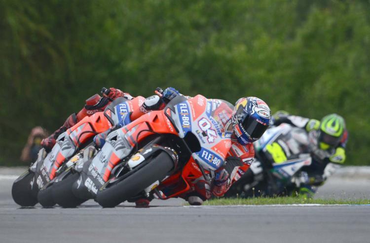 Etapa checa também marcou a 100ª corrida de Dovizioso pela Ducati