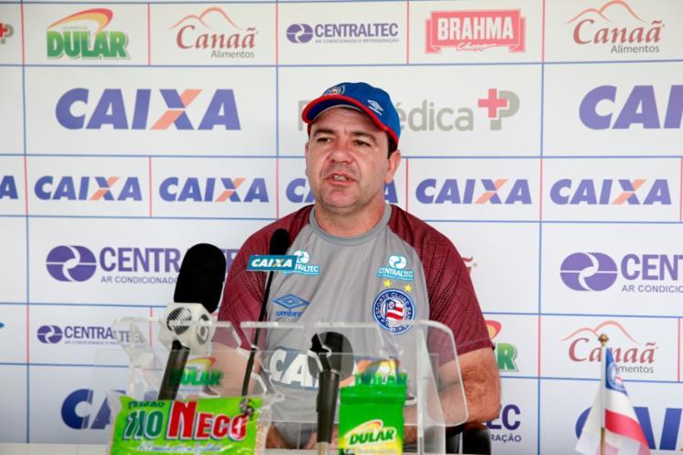 Técnico do Bahia elogiou a utilização do árbitro de vídeo em decisão - Foto: Felipe Oliveira   Divulgação   E. C. Bahia