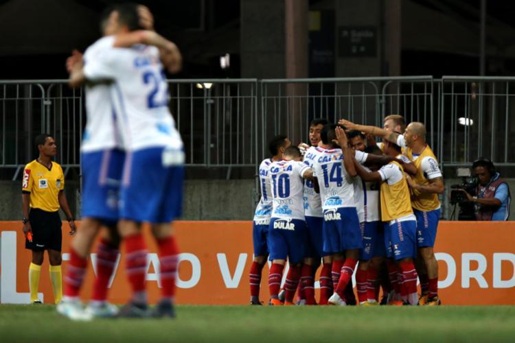 Time disputará contra o Cruzeiro em partida válida pela 19ª rodada do Campeonato Brasileiro - Foto: Felipe Oliveira | E. C. Bahia