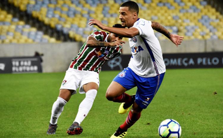 Volante recebeu terceiro cartão amarelo no empate com o Fluminense - Foto: Divulgação | Fluminense