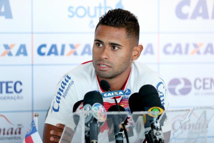 Kayke seguiu para o Rio de Janeiro, onde vai acertar com o Fluminense - Foto: Felipe Oliveira   Divulgação   E. C. Bahia