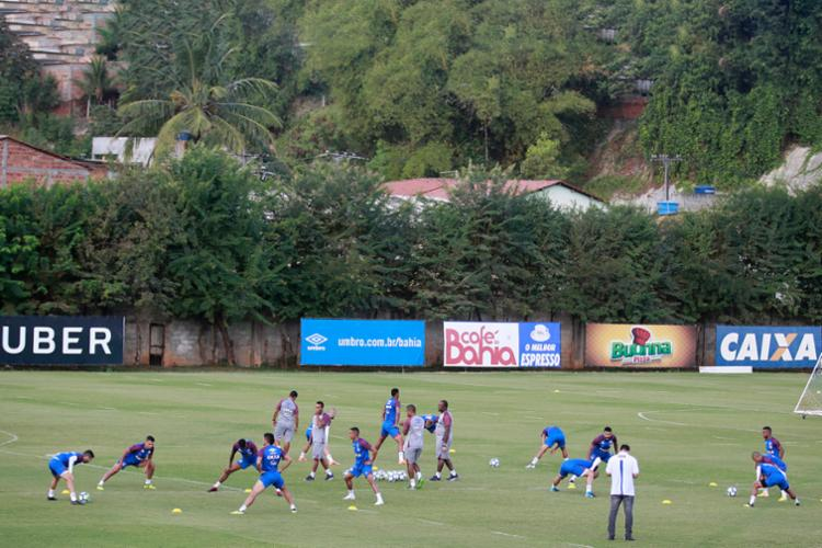 As atividades do dia foram fechadas à imprensa - Foto: Felipe Oliveira | Divulgação | Bahia