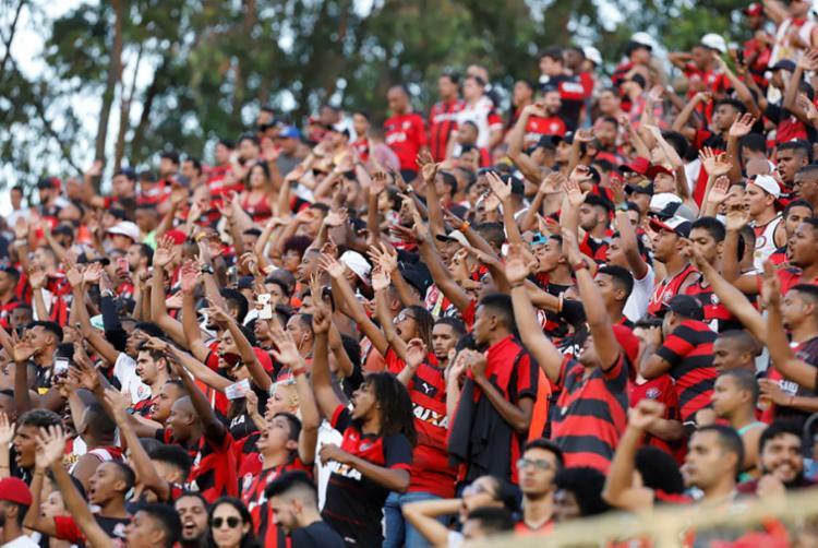 Leão quer lotar o Barradão na partida diante do América-MG - Foto: Margarida Neide | Ag. A TARDE
