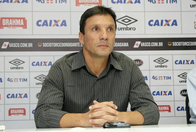 Zé Ricardo está sem clube desde que deixou o Vasco, onde esteve por nove meses - Foto: Paulo Fernandes | Vasco