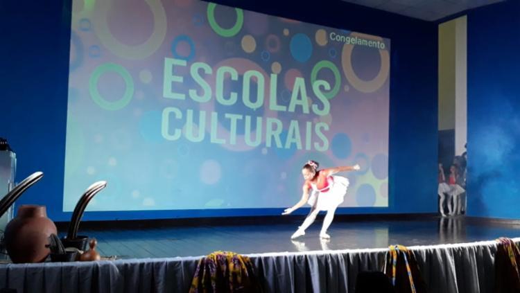 O lançamento do Escolas Culturais contou com apresentações de música, dança, poesia, capoeira, cordel, balé e outras manifestações culturais - Foto: Divulgação
