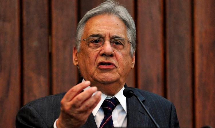 Fernando Henrique Cardoso rebateu a polêmica e disse que a fala foi