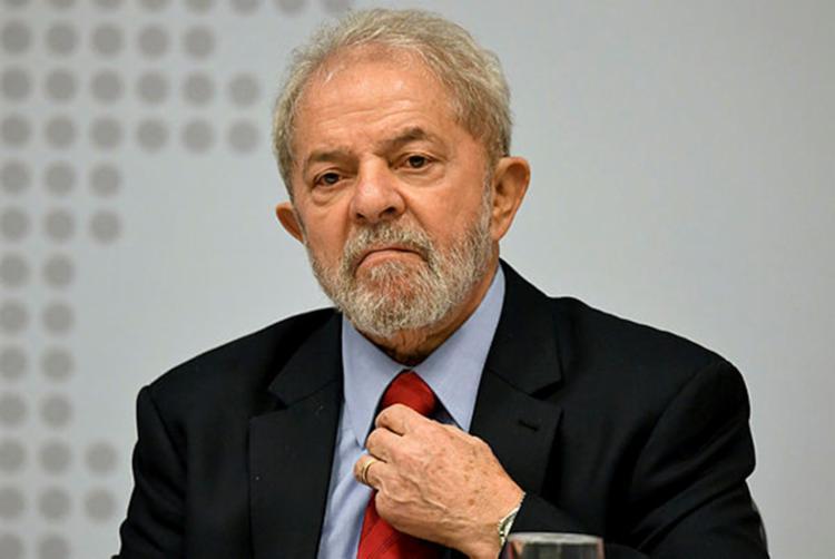 O ex-presidente Luiz Inácio Lula da Silva, preso desde 7 de abril em Curitiba - Foto: Evaristo Sá | Reprodução | AFP