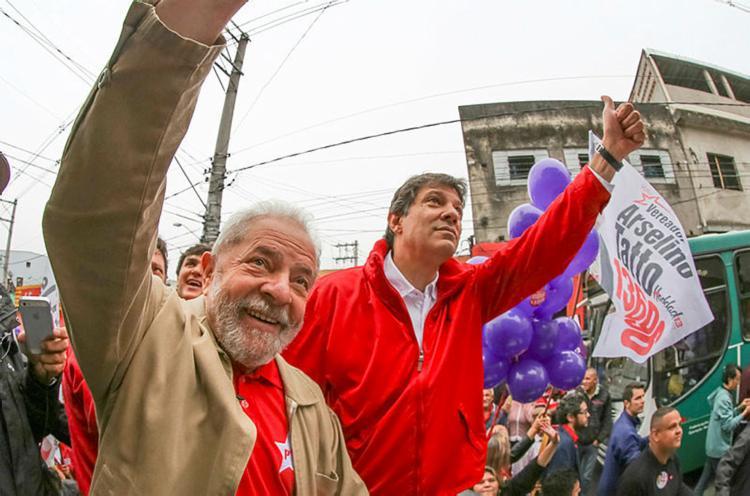 A estratégia do partido é vincular diretamente os candidatos à imagem de Lula - Foto: Divulgação   Ricardo Stuckert