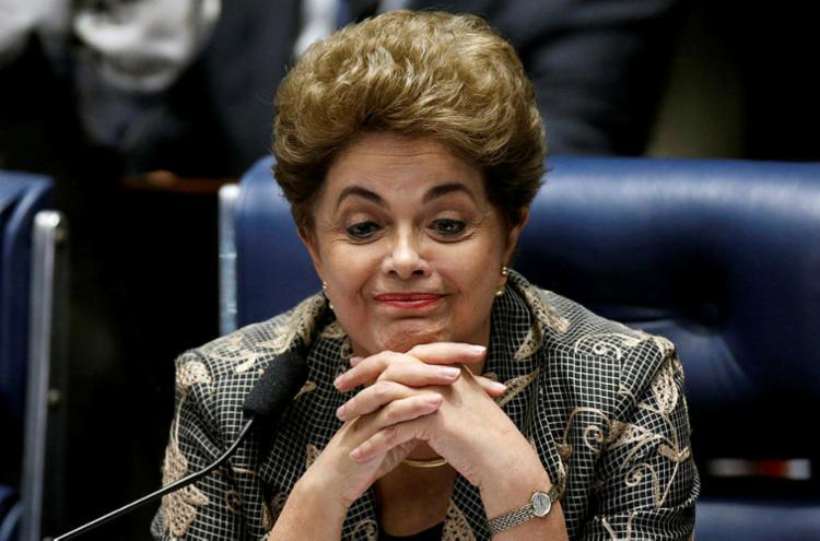 De acordo com a contestação, Dilma não pode concorrer a cargos públicos por ter sido condenada por crime de responsabilidade - Foto: Ueslei Marcelino | Reuters