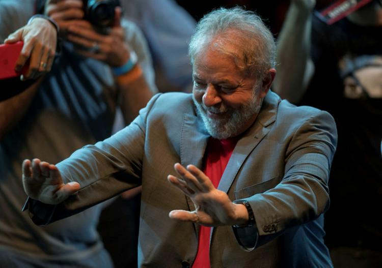 A pesquisa não considerou um cenário sem a participação do ex-presidente Lula - Foto: Mauro Pimentel   AFP