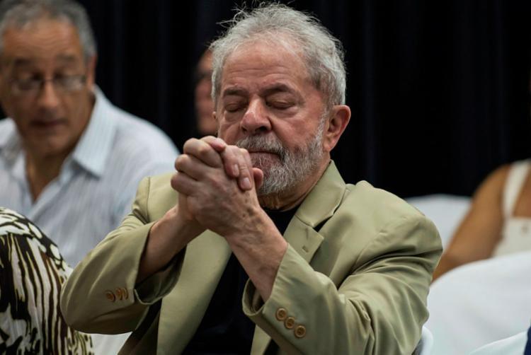 Partido vai registrar a candidatura ex-presidente no dia 15 de agosto - Foto: Nelson Almeida   AFP