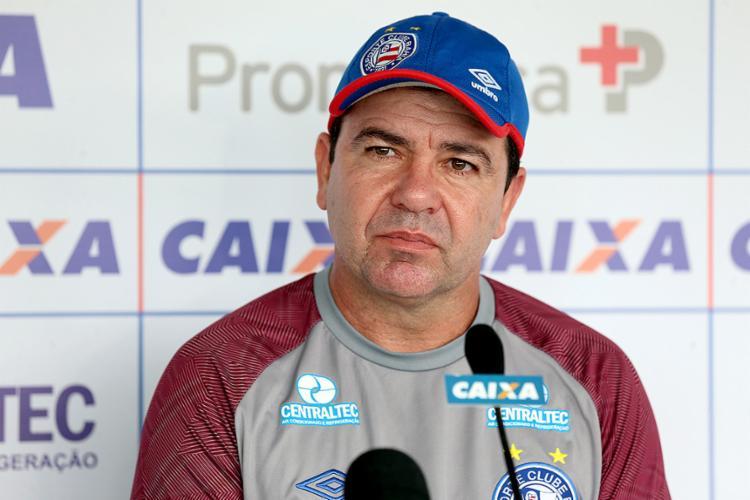Treinador critica grande sequência e desgaste no elenco Tricolor - Foto: Felipe Oliveira l EC Bahia