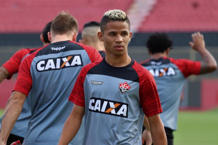 Erick não viajou com a delegação rubro-negra para o Rio de Janeiro - Foto: Divulgação | E. C. Vitória
