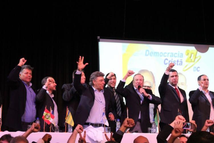 Convenção Nacional do DC lançou Eymael como seu nome para a disputa pela Presidência | Foto: Bruno Murashima | DC