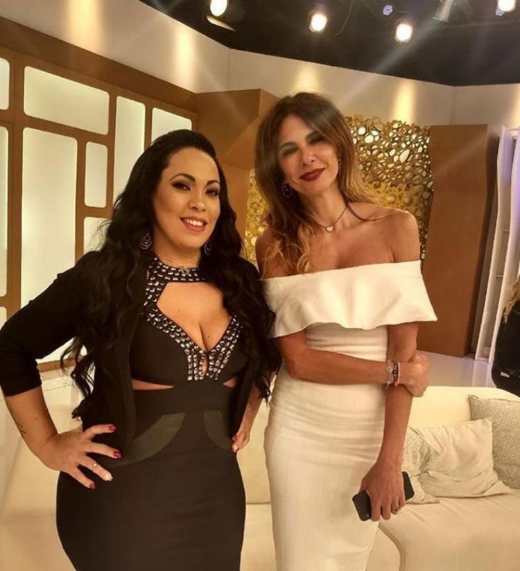 Fabiana Escobar esteve presente no programa apresentado por Luciana Gimenez - Foto: Reprodução | Instagram
