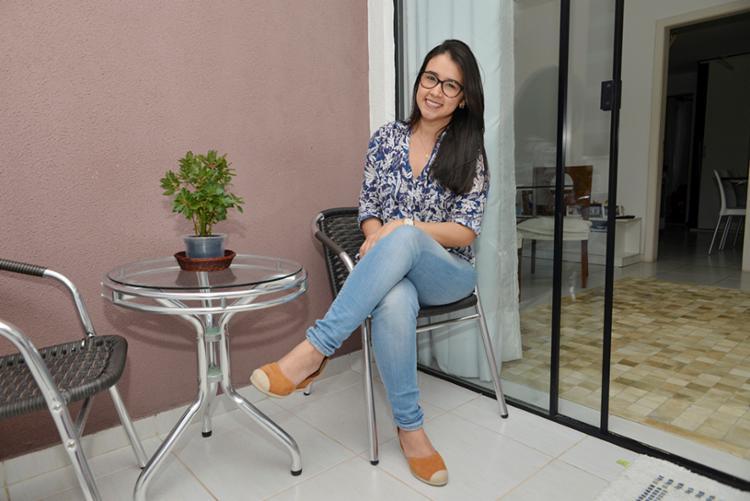 A dentista Jéssica Mendes financiou uma casa no bairro de Brotas avaliada em R$ 290 mil - Foto: Shirley Stolze | Ag. A TARDE