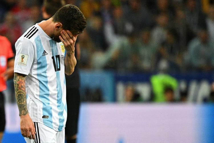 Lionel Messi pediu para não ser mais convocado pela seleção em 2018 - Foto: Johannes Eisele | AFP