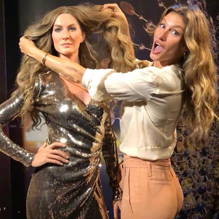 A modelo escreveu legenda divertida nas redes sociais - Foto: Foto: Reprodução