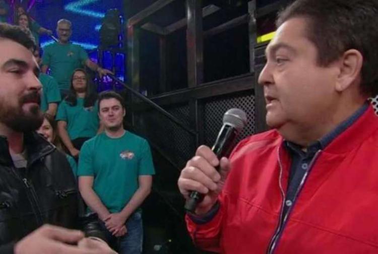 Faustão se irritou por mudanças no roteiro do programa - Foto: Reprodução | TV Globo