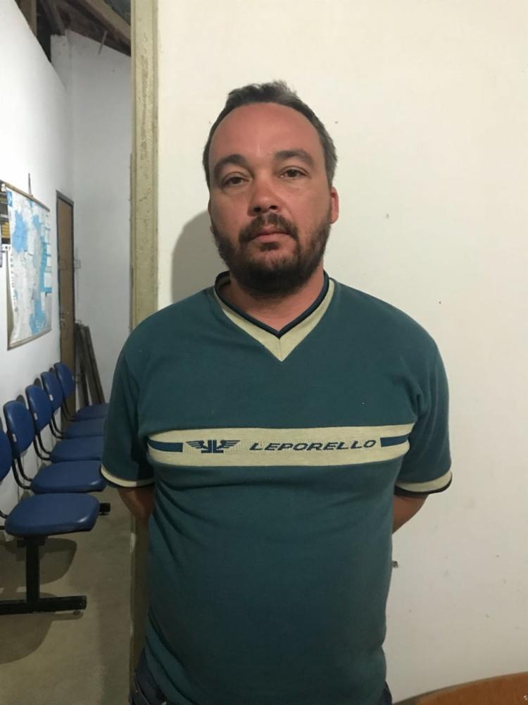 Carlos Augusto foi preso em flagrante tentando dar o golpe do seguro de carro - Foto: Divulgação | SSP BA