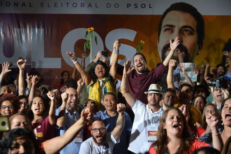 O PSOL confirmou a candidatura de Guilherme Boulos à Presidência da República | Foto: Rovena Rosa | Agência Brasil