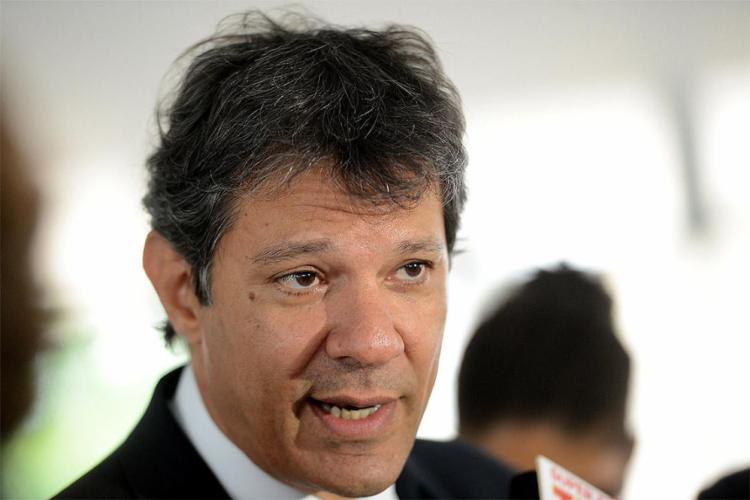 Fernando Haddad no horário do PT virou 'Lula Haddad' - Foto: Wilson Dias l Agência Brasil