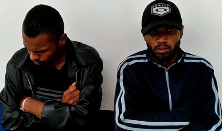 João Paulo e Jurandir foram presos após confessarem o crime - Foto: Foto: Reprodução| Site Blitz Conquista