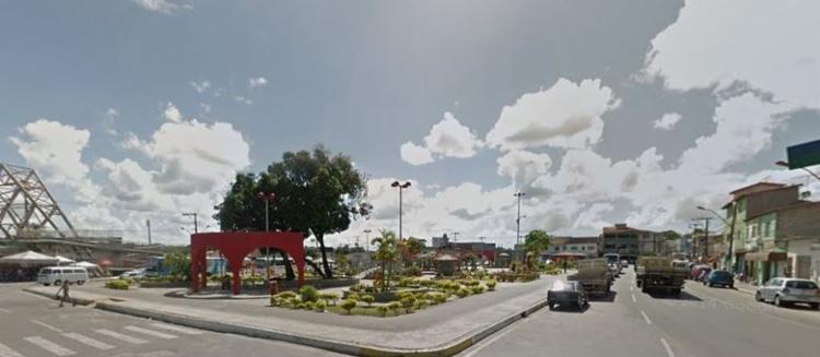 A ocorrência foi registrada por volta das 12h - Foto: Google Street View
