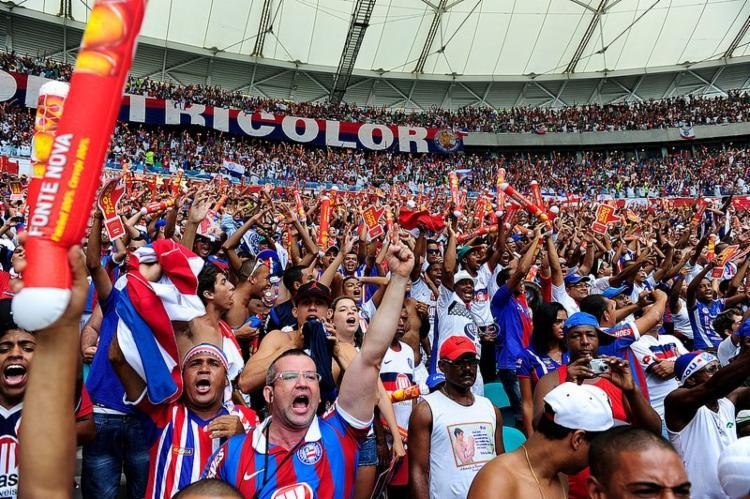 Bilhetes já estão disponíveis também nos tradicionais pontos físicos de comercialização do clube - Foto: Felipe Oliveira   Divulgação   E. C. Bahia