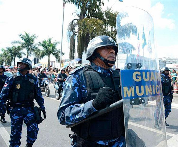 Ao todo, são oferecidas 300 vagas para guardas municipais - Foto: Silvio Tito | Secom