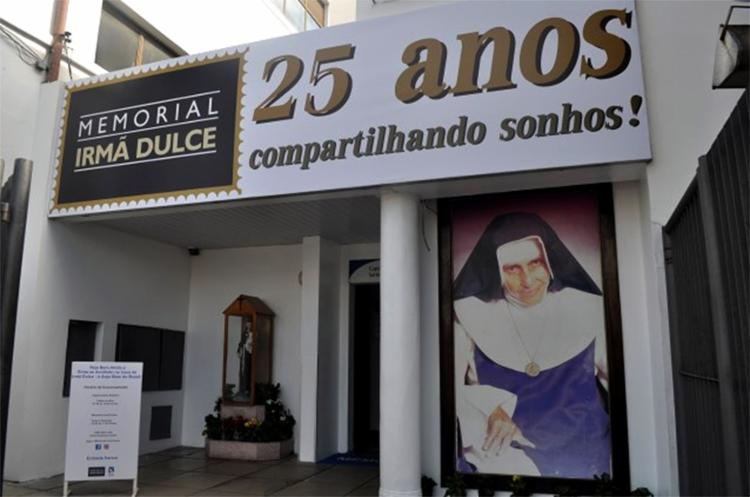 Memorial foi criado um ano após a morte de Irmã Dulce com o objetivo de preservar e manter vivos os ideais do Anjo Bom da Bahia - Foto: Divulgação l Osid
