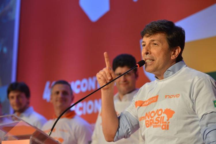 Partido Novo confirma João Amoêdo como candidato a presidente | Foto: Rovena Rosa | Agência Brasil